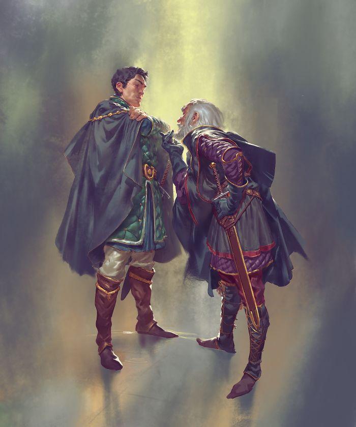 Baelor Breakspear And Maekar Targaryen