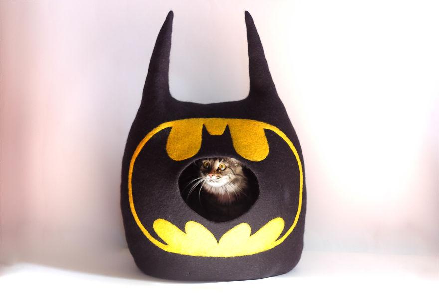 Batman Cat Bed