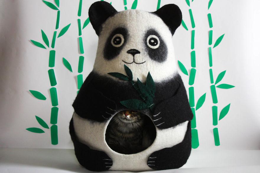 Panda Cat Bed