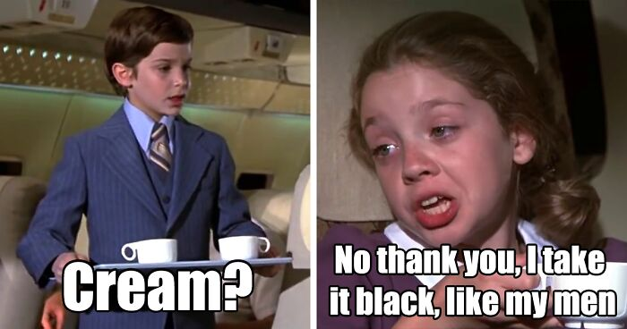 30 Airplane Moments To Prove That Good Humor Doesn T Age Bored