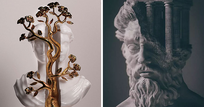 I Created 3D Models Of Ancient Deities And Mythological Creatures With A Modern Twist (22 Pics)