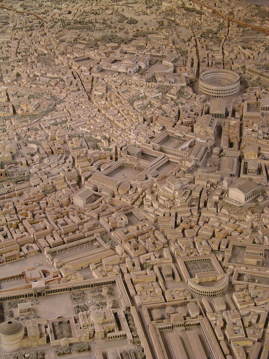 It Took 36 Years For This Archaeologist To Make The Most Accurate Model Of Ancient Rome