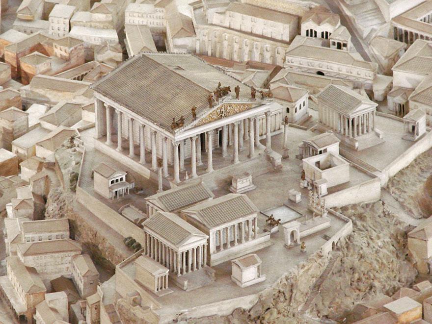 Модель древнего Рима