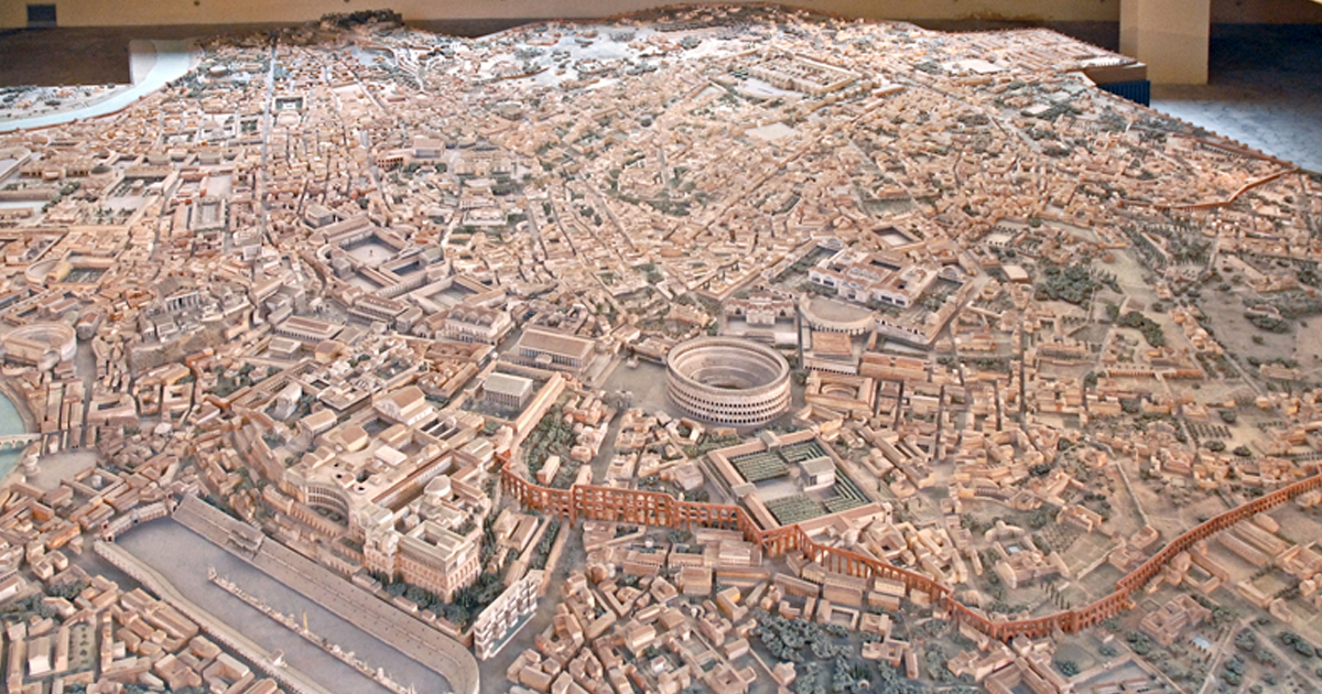 Archaeologist Took 36 Years To Make This Incredibly Accurate Scale Model Of Ancient Rome