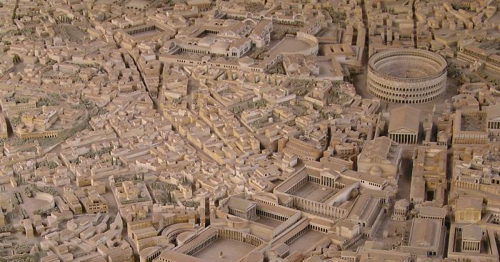 It Took 36 Years For This Archaeologist To Make The Most Accurate Model Of Ancient Rome Bored Panda