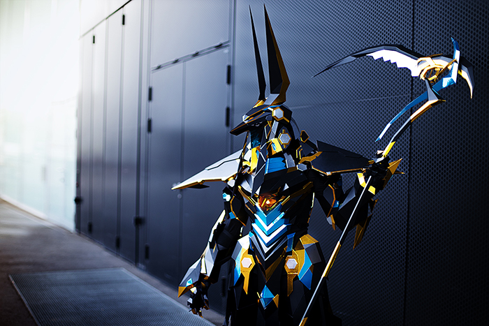 This Girl Spent 1000 Hours Working On This Incredibly Detailed Anubis Costume That Looks Like It Was Made With CGI
