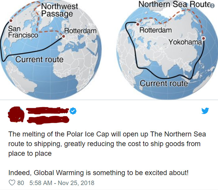 Global Warming Is Exciting!