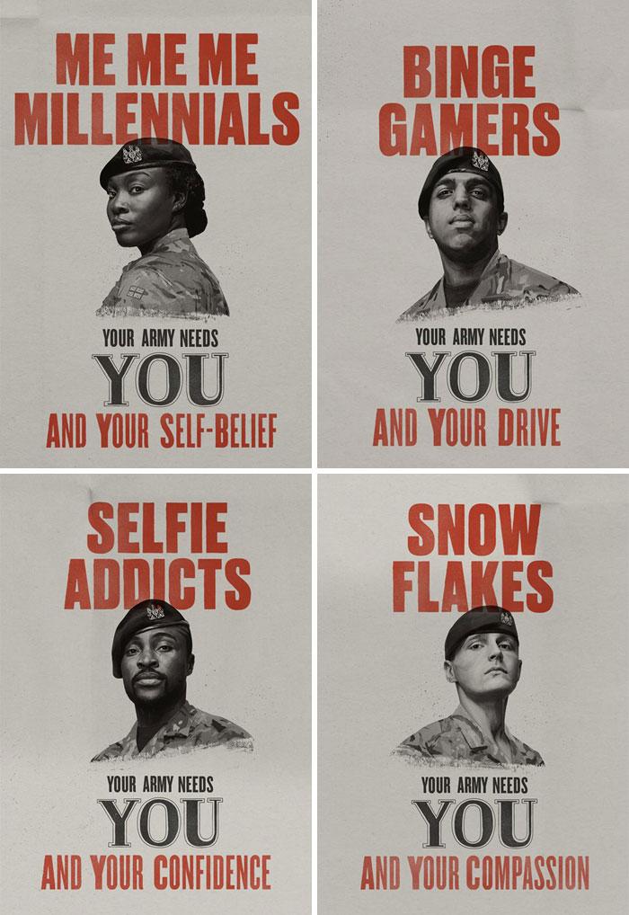 British Army Recruitment Ads...