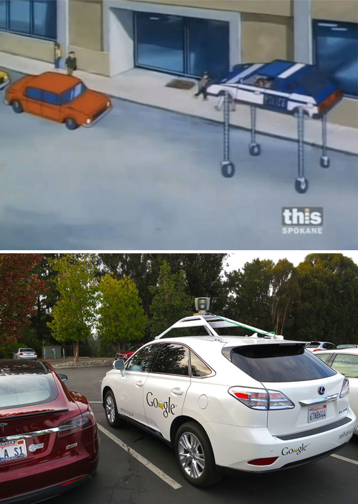 A Self-Parking And Self-Driving Car