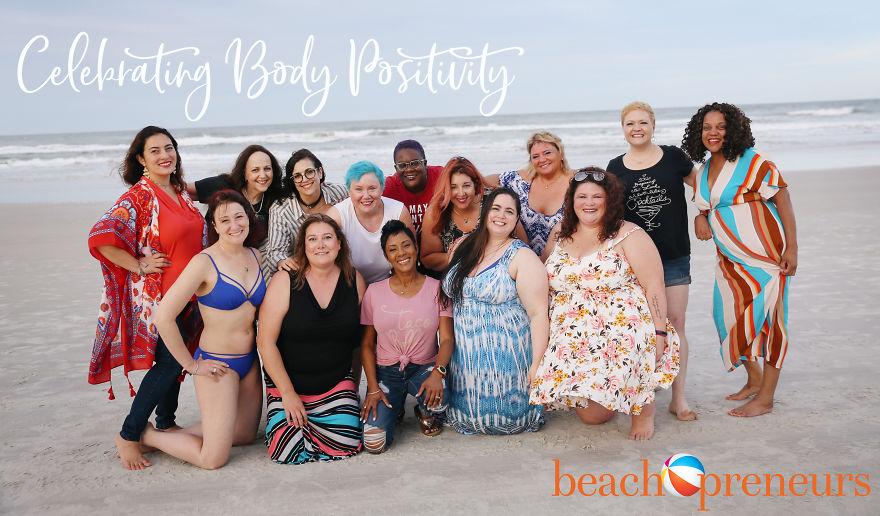 Celebrating Body Positivity On Daytona Beach