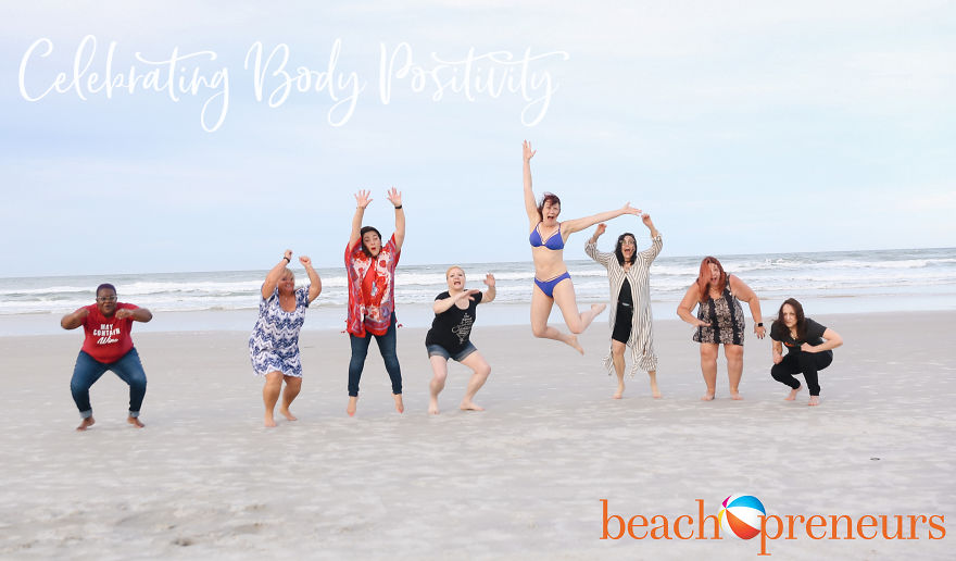 Owning The Beach And Celebrating Our Beauty!