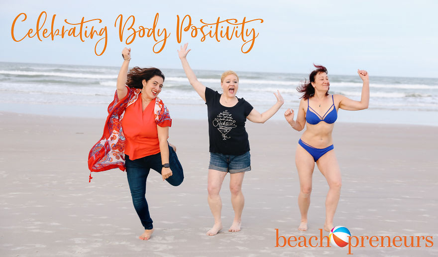 Women Enjoying Their Bodies On The Beach Because They Can!