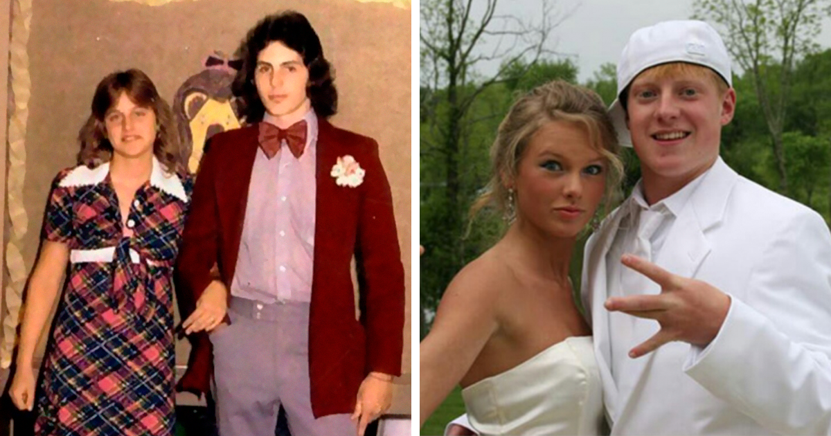 60 Celebrity Prom Photos That Prove High-School Was Awkward For All Of Us