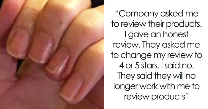 Chinese Nail Company Receives 1 Star Review For Bad Quality Product, Contacts Customer Asking To Edit It To 5 Stars