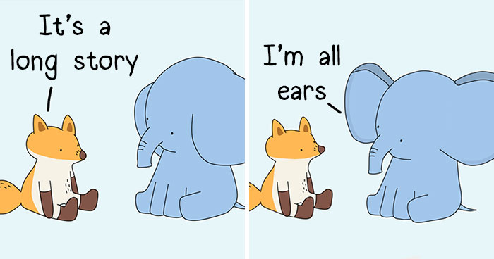 My 30 Animal Comics To Inspire People To Love And Care For Themselves