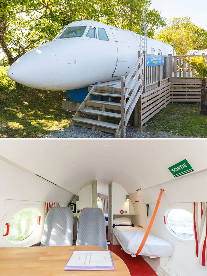 True Plane In Le Haut Village, France