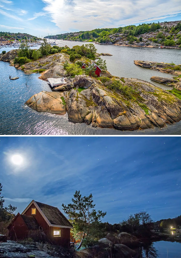 Private Island In Sunny Hvaler, Norway