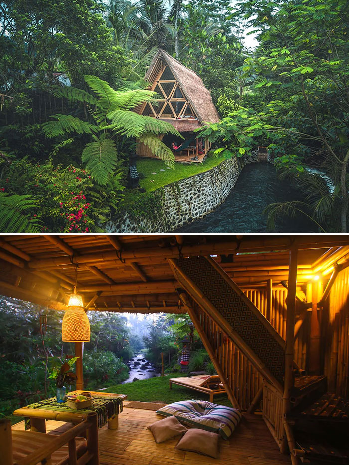 Eco Bamboo Home In Bali