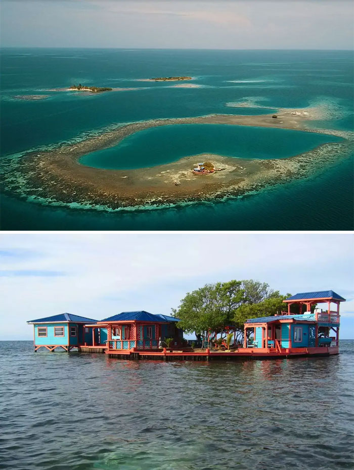 Bird Island In Placencia, Belize