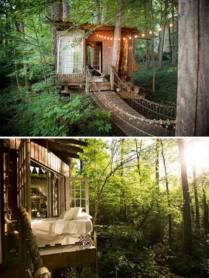 Secluded Intown Treehouse In Atlanta