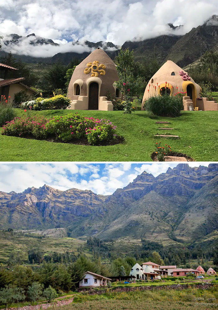 Dome Room In The Sacred Valley, Peru