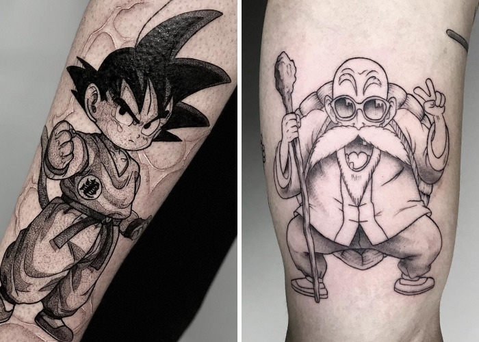 10 Best Dragon Ball Tattoos