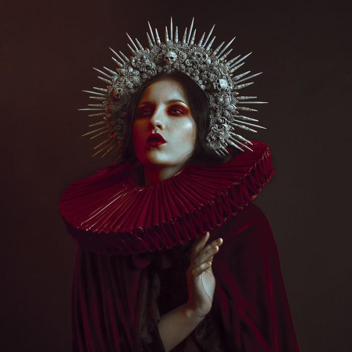 UK Photographer Newo Creates Stunning Gothic Beauty Images