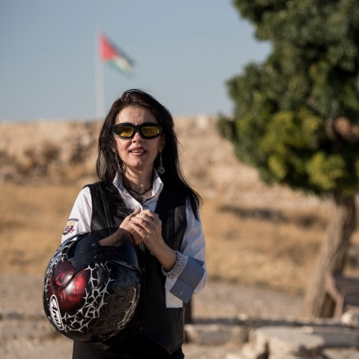 Females Bikers In Middle East