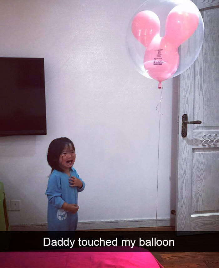 Daddy Touched My Balloon