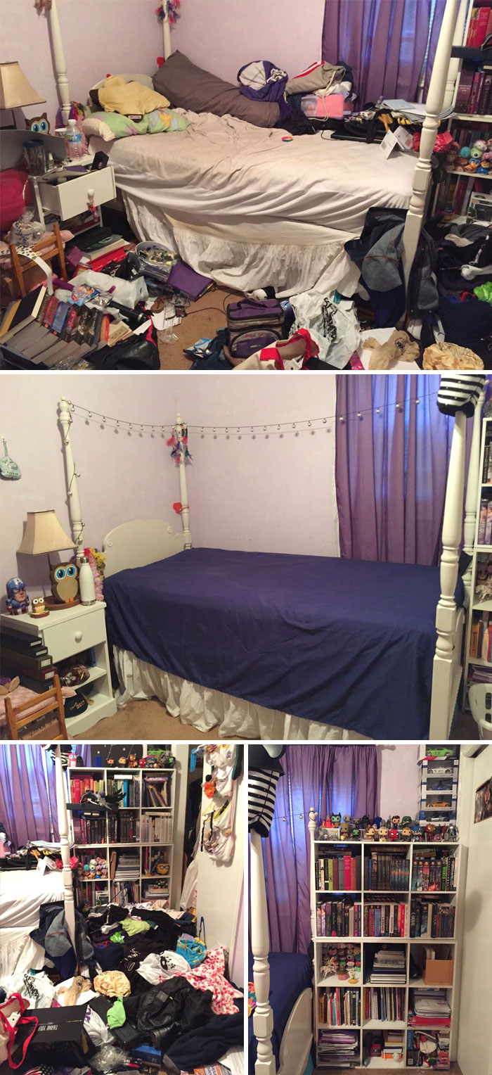 I've Been Dealing With Depression For About Three Years Now, And While My Room Has Never Been Among The Tidiest Out There, The State Of My Habitat Just Worsened My Mental State