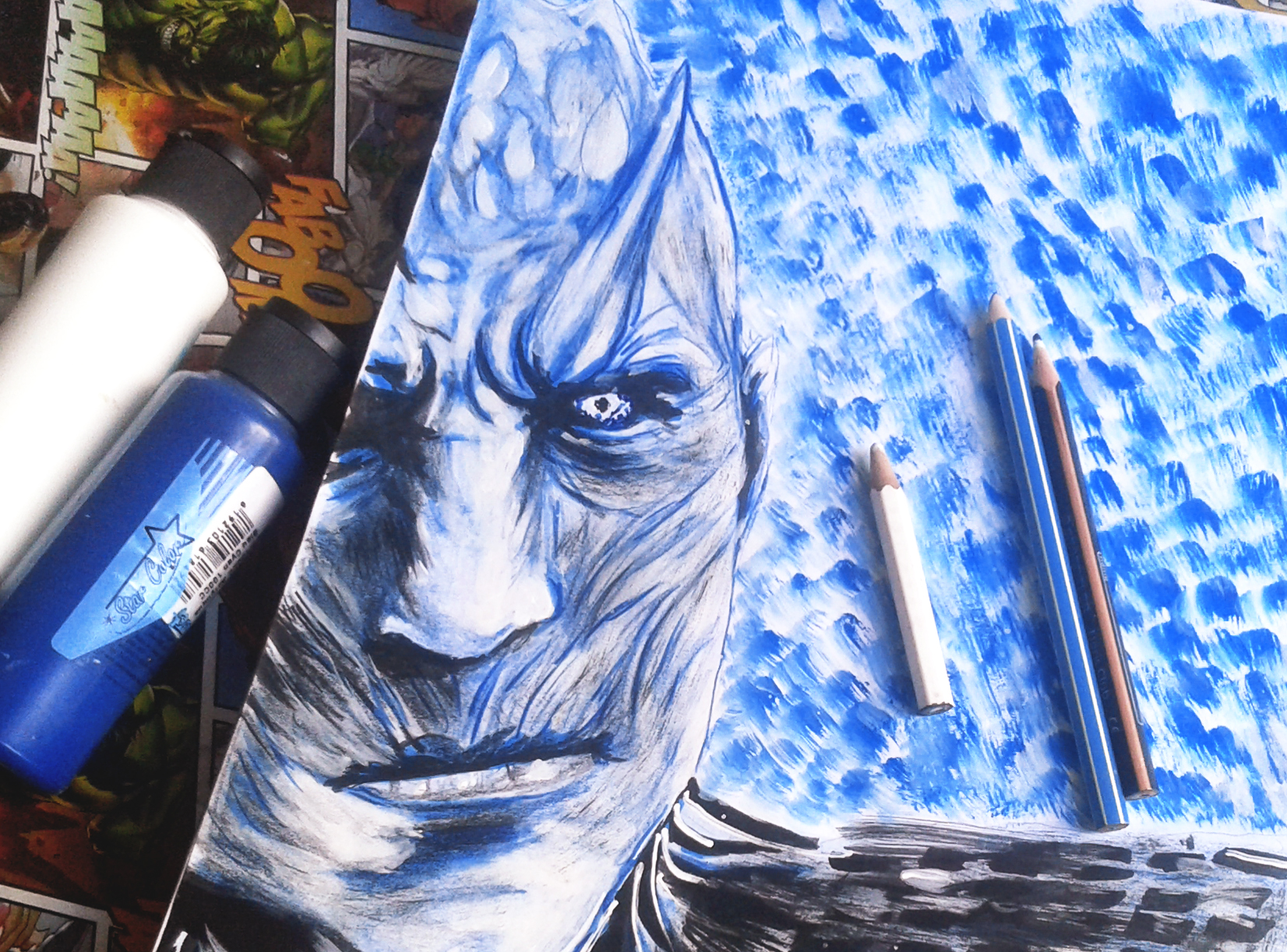 This Night King Drawing Took Me An Hour