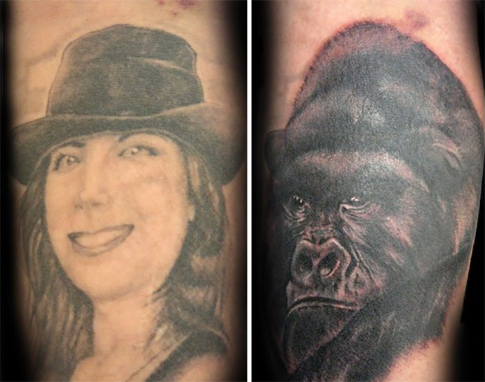 From Wife's Portrait To Gorilla