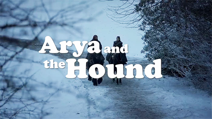 Game Of Thrones Fan Imagines 'Arya And The Hound' Spinoff Series And People Are Loving It Already