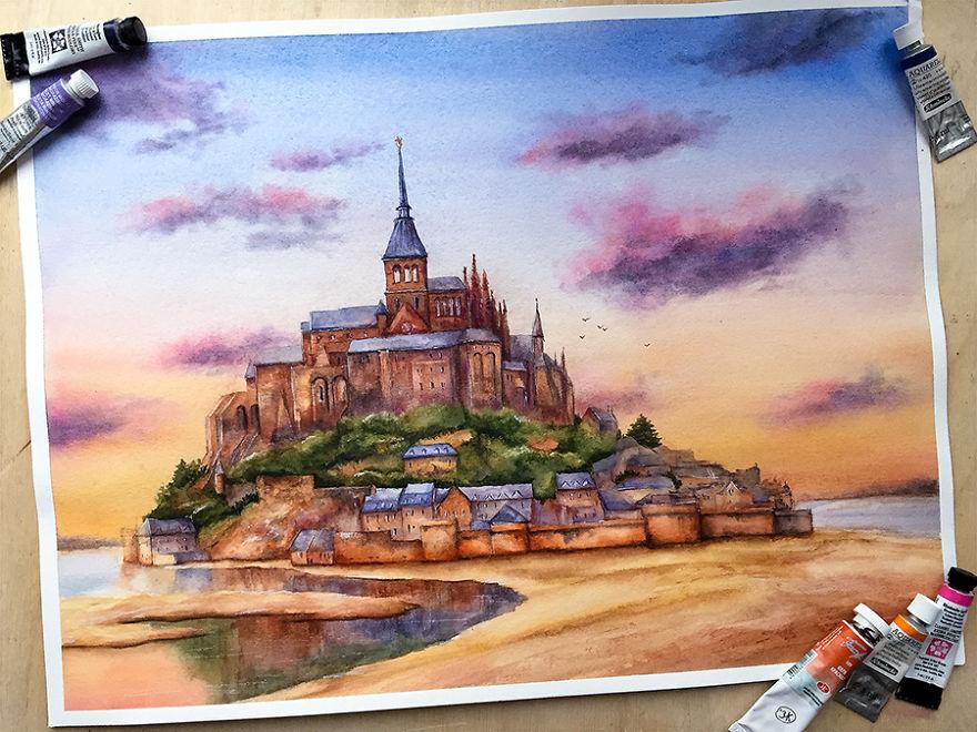 Saint Michael's Mount, France