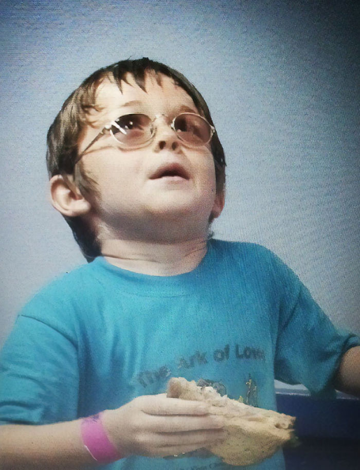 My Friend Looked Like Elton John When He Was Younger