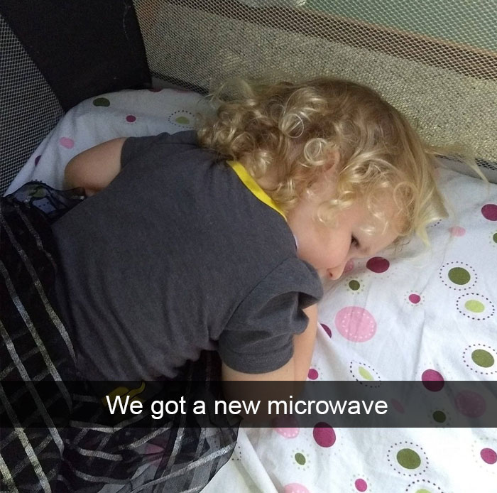 We Got A New Microwave