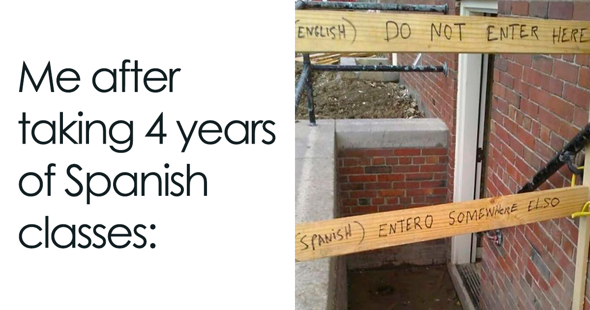 30 Funniest Memes About Spanish Language For People That Tried Learning It
