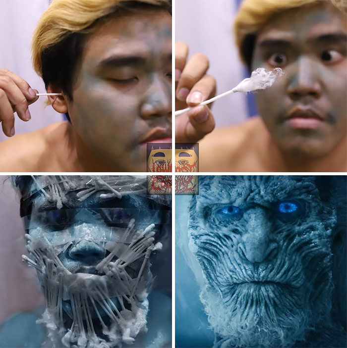 Cheap Cosplay Guy Turns Himself Into 6 'Game Of Thrones' Characters And The Result Is So Bad, It's Good