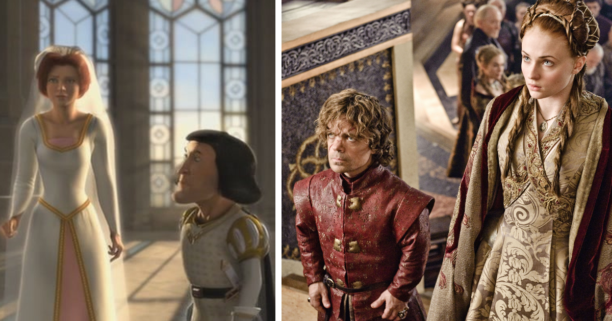 Someone Compared 'Game Of Thrones' To 'Shrek' In 17 Scenes ...