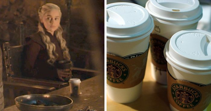 Game Of Thrones Accidentally Leave A Starbucks Like Cup In