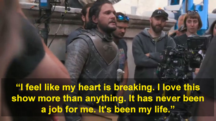 Game Of Thrones Fans Rally To Support Kit Harrington After He's