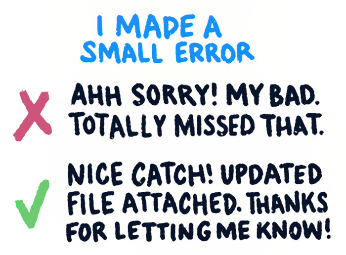Designer Presents A Word Phrasing Hack That Will Make You Sound More Respectable On E-mails