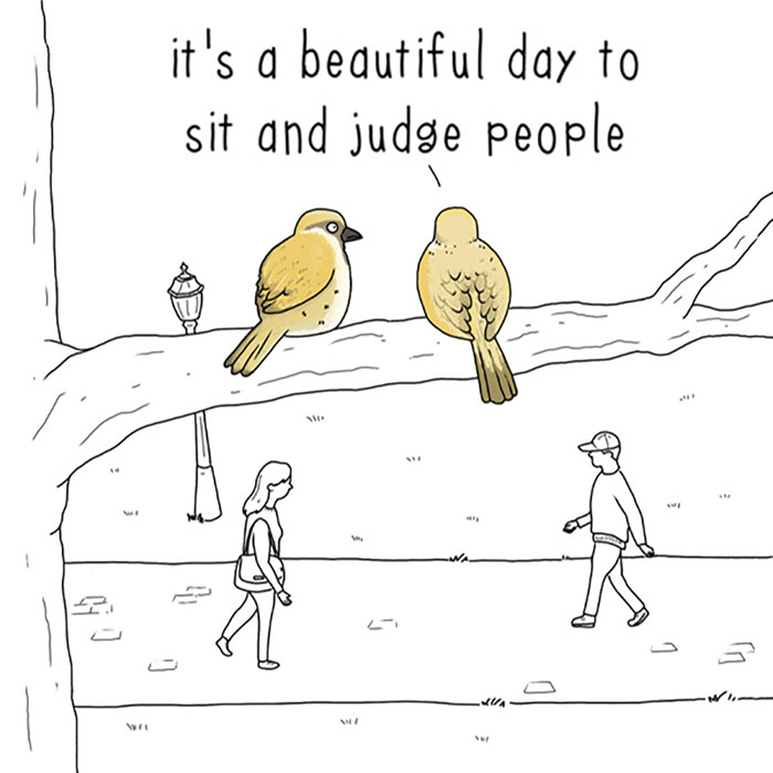 I Show What Birds Would Say If They Could Talk (26 Pics)