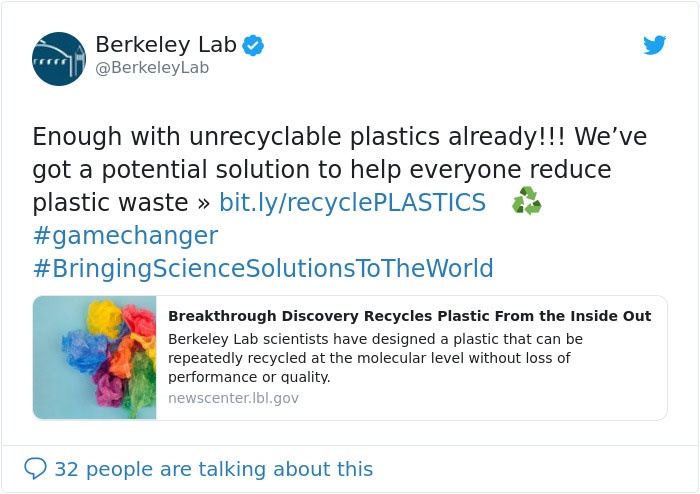 Scientists Created A New Type Of Plastic That Stops The Non