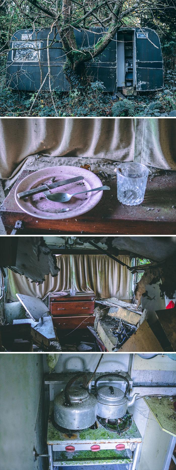 A Caravan Lost In The Woods