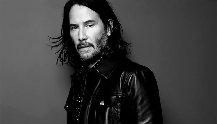 Keanu Reeves Is The New Face For Saint Laurent Men's Range And People Online Are Loving It