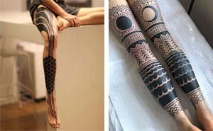 40 Tatuajes épicos en las piernas