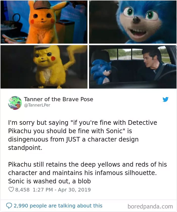 30 People That Roasted New Sonic Character Design So Bad That The