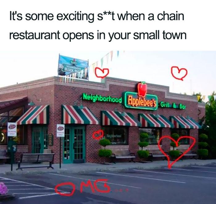Small Town Meme