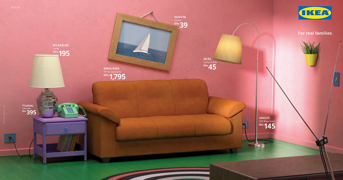 IKEA Recreates The Living Rooms From 'Simpsons', 'Friends' And 'Stranger Things' Using Their Furniture